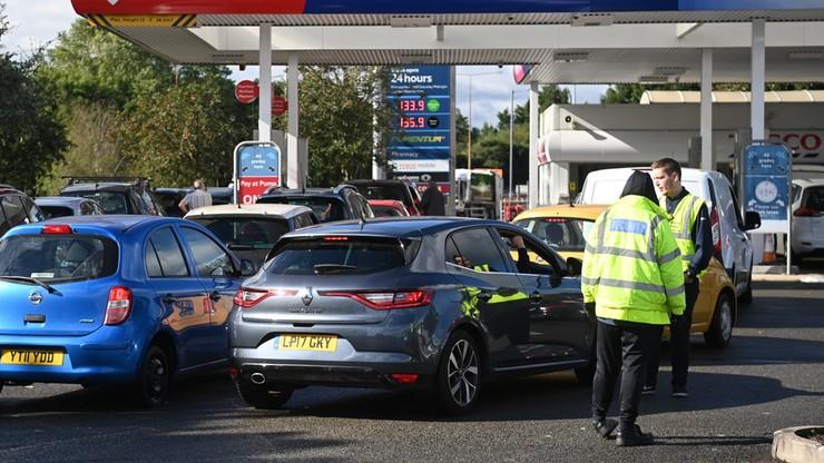 kryzys transportu w wielkiej brytanii